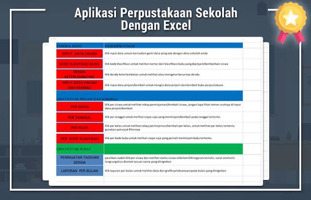 Download Aplikasi Perpustakaan Sekolah Dengan Excel