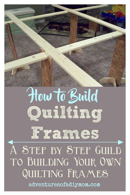 How to Build Quilting Frames Collage