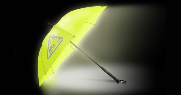 Bright Night Illuminated Lightweight Umbrella