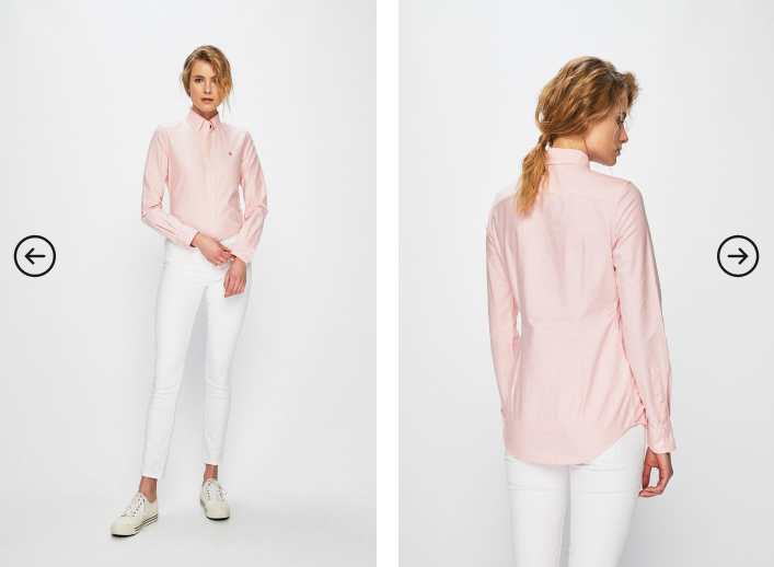 Polo Ralph Lauren - Camasa roz originala de femei