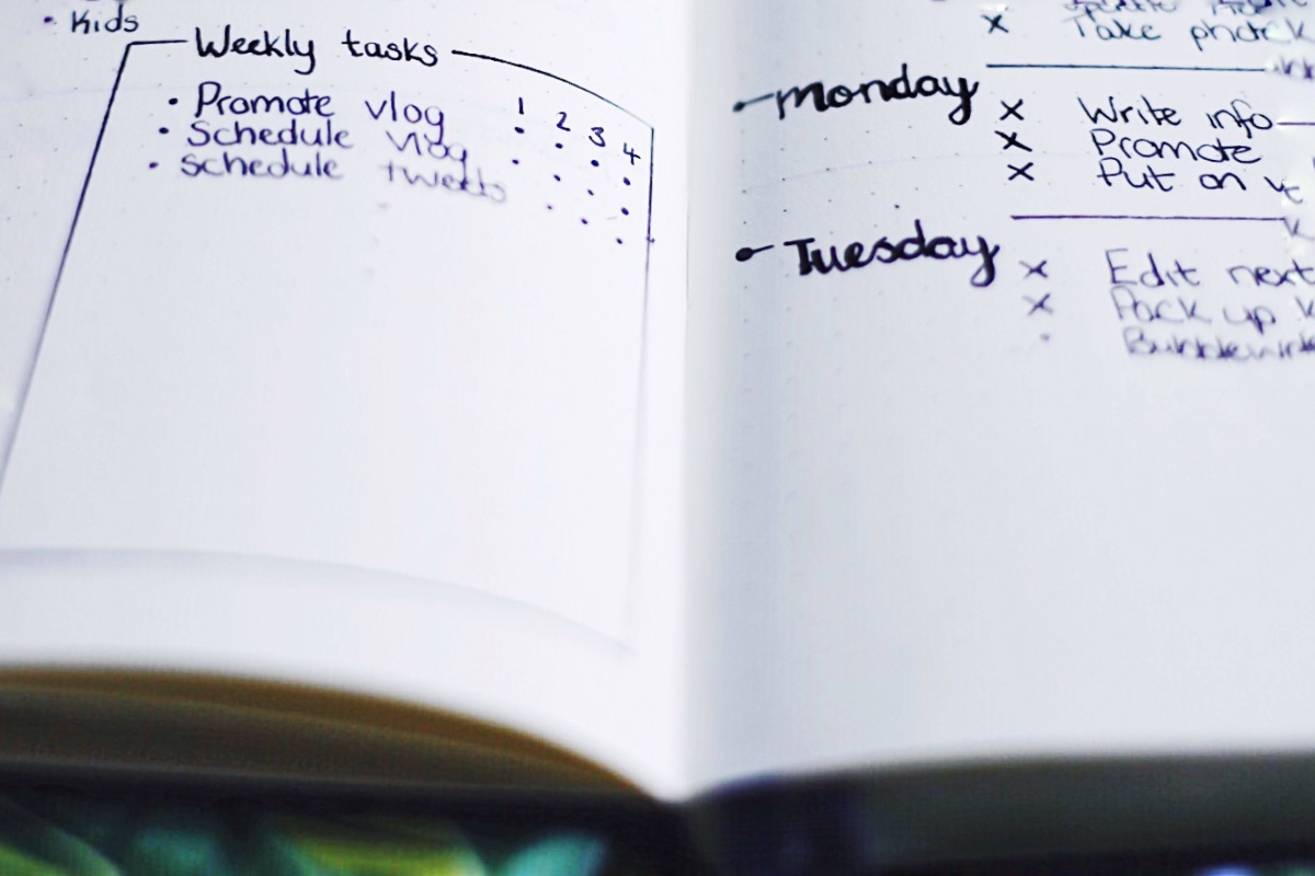 Bullet Journal Tasks