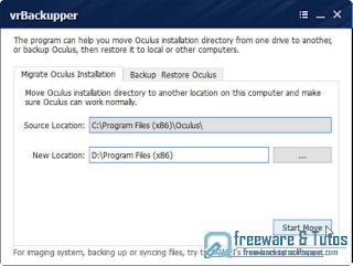 vrBackupper (Oculus Rift)