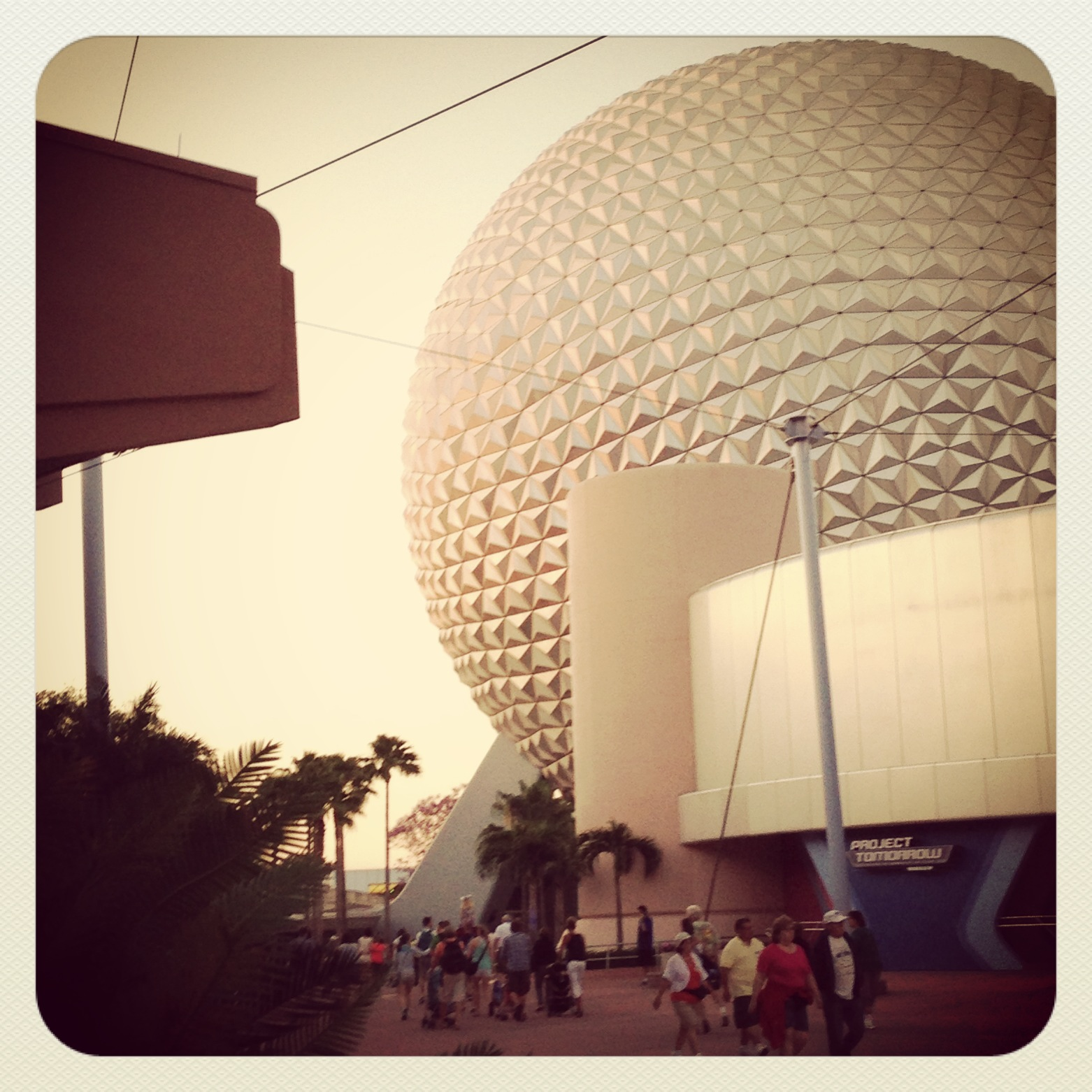 First Visit to Epcot