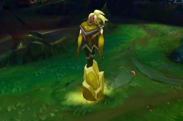 Mod Skin Taliyah Gold