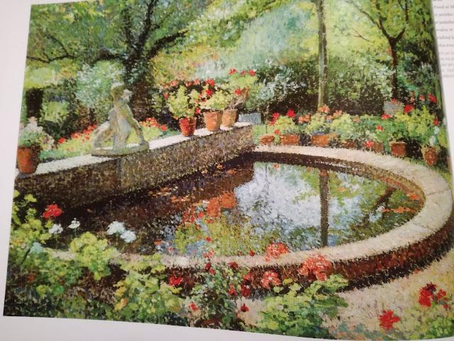 Henri Martin Garden Pond at Marquayrol