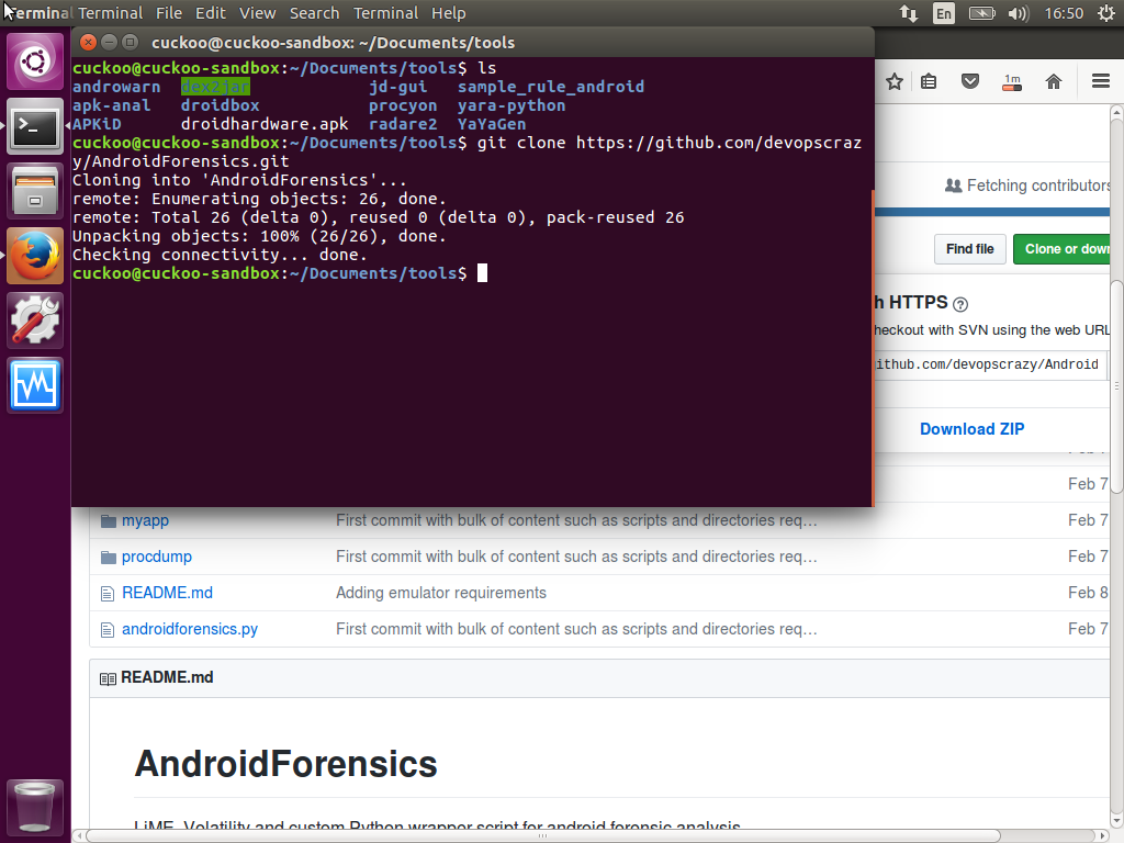 Android memory forensic analysis with LIME volatility ᕙ༼*◕_