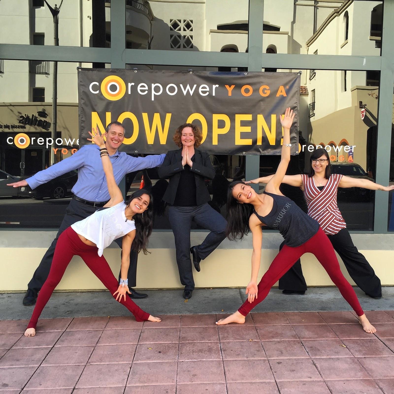 Westwood Village Blog: Now Open! CorePower Yoga Westwood!