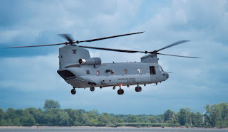 Air Force to formally induct Boeing manufactured Chinook Military Helicopters