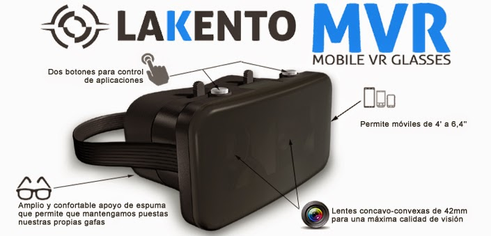 Lakento Mobile VR Glasses
