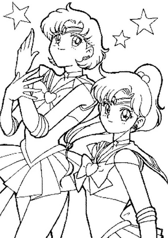 Sailor Moon Para Colorir E Pintar Pra Colorir E Rabiscar