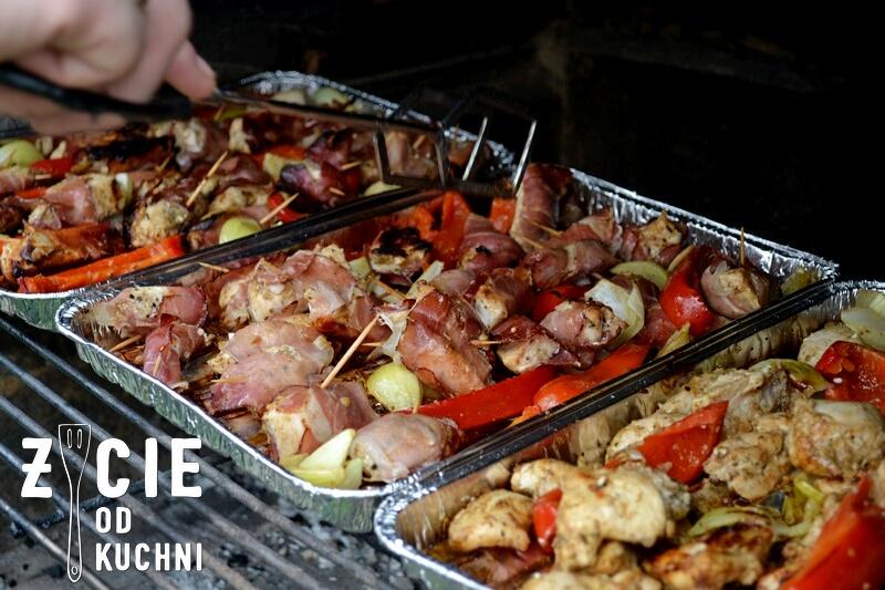 szynka szwarcwardzka, grill, grillujemy, danie z grilla, kurczak w szynce, blog, zycie od kuchni, kurczak grillowany