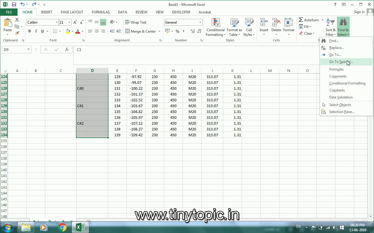 How To Fill Out The Cells With The Value Of Cell Above In