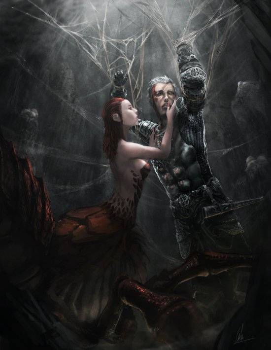 Ng Yong Hui cglas deviantart ilustrações incríveis fantasia games mulheres