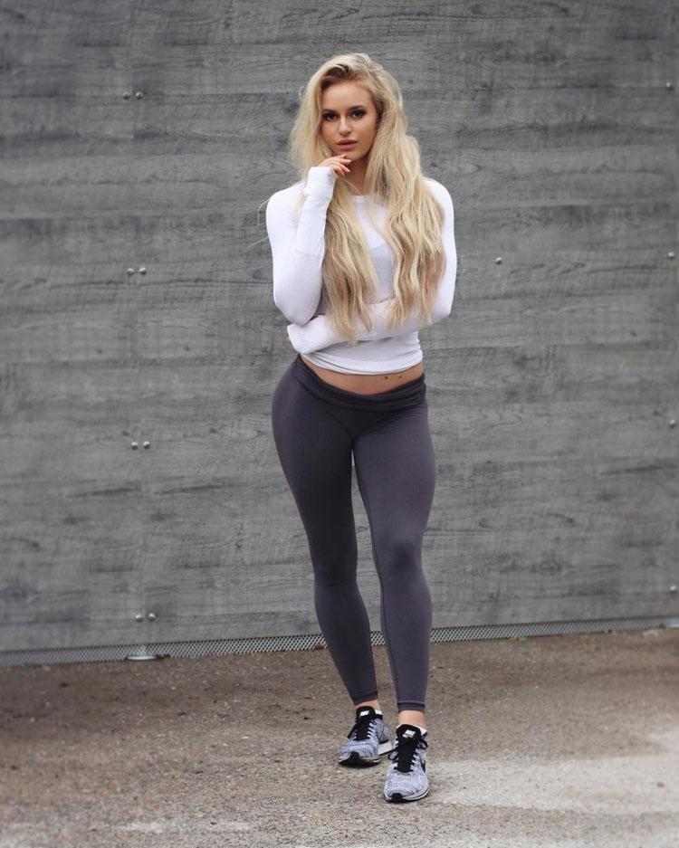 Sweden Fitness Model Anna Nystrom 04