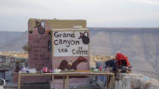Grand Canyon Tea and coffee in Jordan