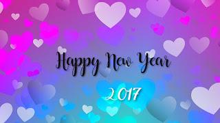 image bonne et heureuse année 2017