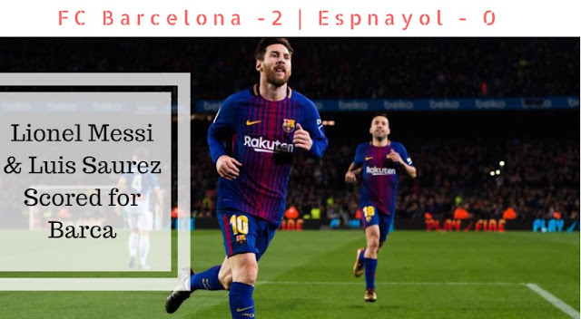Lionel Messi scored the decisive goal which took Barca past Espanyol securing semi-final place in Copa Del Rey 2017-18