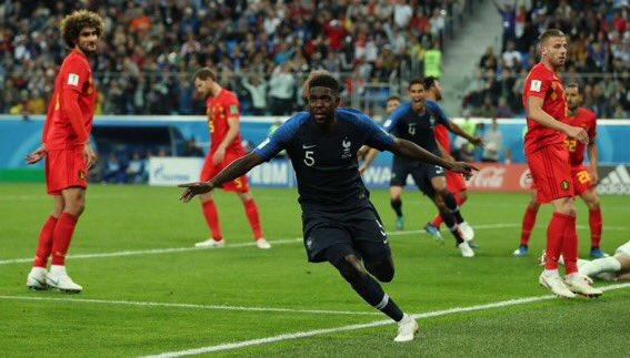 Mondial 2018: Samuel Umtiti envoie la France en finale