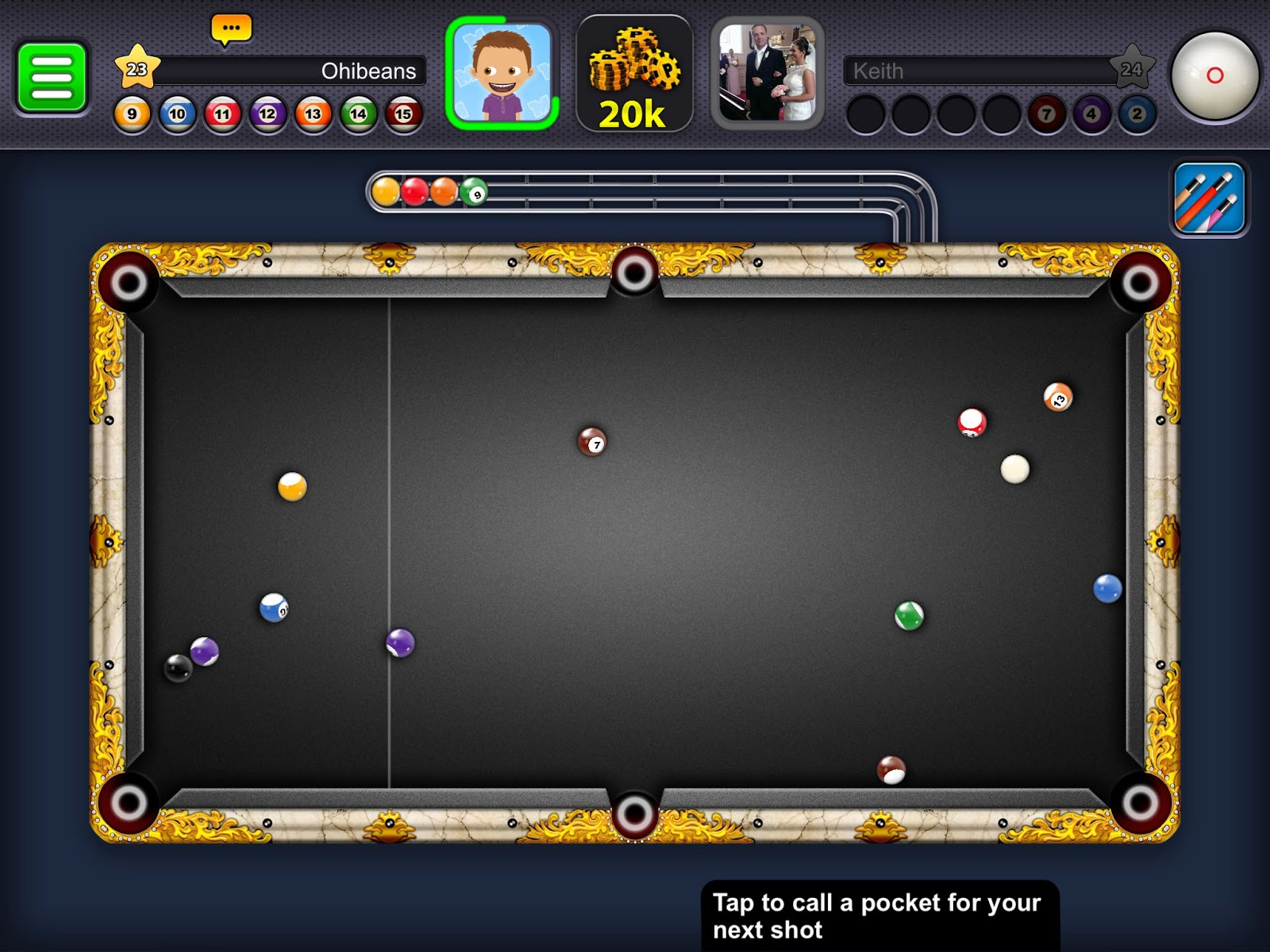 yash gahlot: 8 Ball Pool long line all room and 100x spin ...
