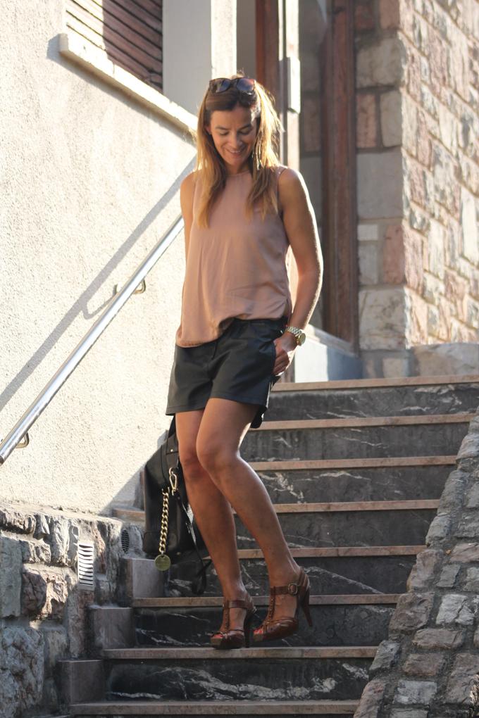 shorts Zara Cuero , escuestiondestilo, Tom Ford