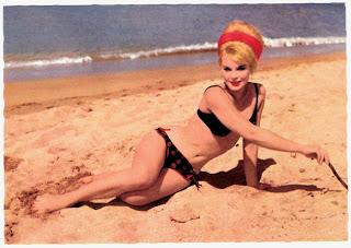 Elke Sommer postcards