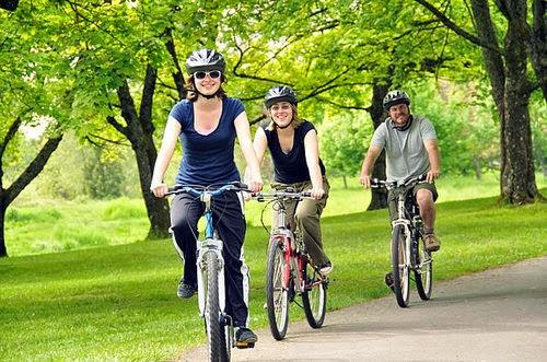 Andar de bicicleta traz inúmeros benefícios!