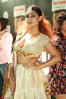Apoorva in Cream Deep Neck Choli Ghagra WOW at IIFA Utsavam Awards 2017  (Telugu and Kannada) Day 2  Exclusive 22.JPG
