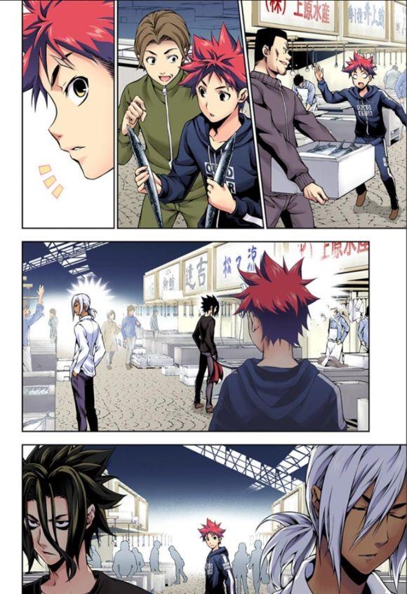 Shokugeki no Soma - Chapter 107