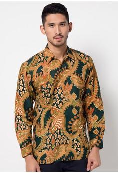 model baju batik pria gaul Terbaru