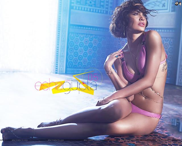 Esha Gupta Sexy Wallpapers