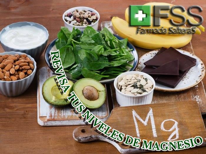 Revisa tus niveles de #Magnesio