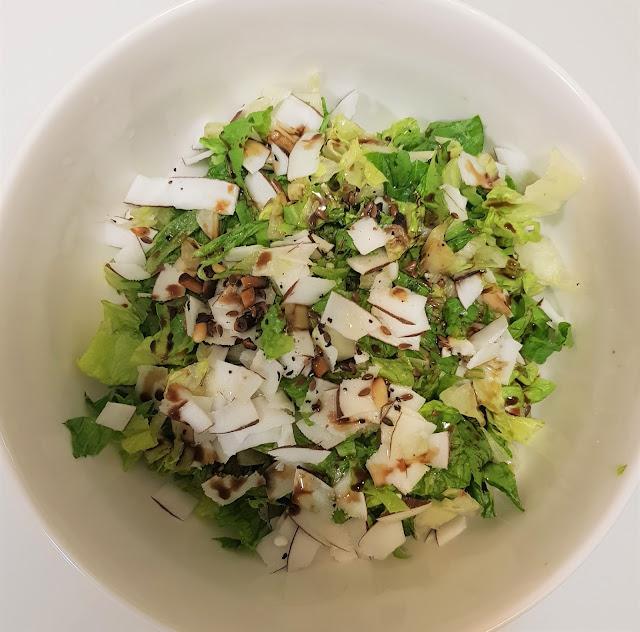 Healthy Vegan Salad - Quick Salad Recipe - Easy healthy recipe - Vegan Recipes