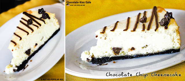 Chocolate Chip Cheesecake of Chocolate Kiss Cafe