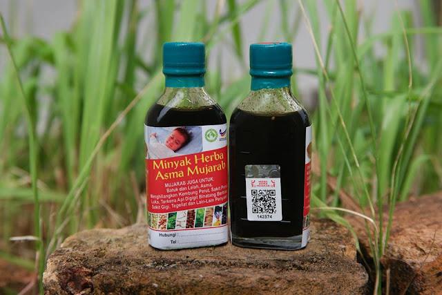 Minyak Herba Asma Mujarab Bantu Rawat Asma, Batuk & Lelah
