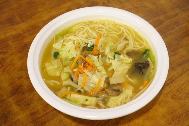 咖哩蔬菜湯麵