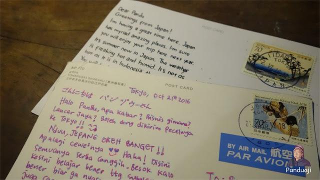 Postcard dari Jepang