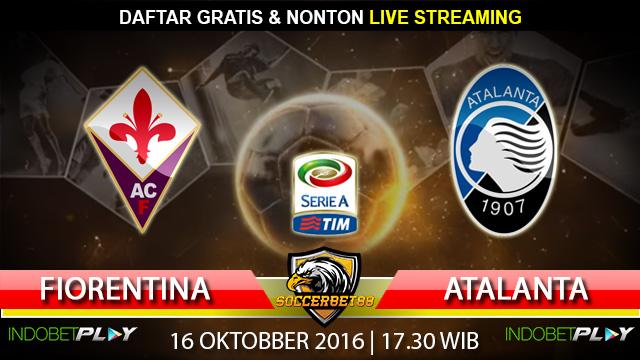 Prediksi Fiorentina vs Atalanta 16 Oktober 2016 (Liga Italia)