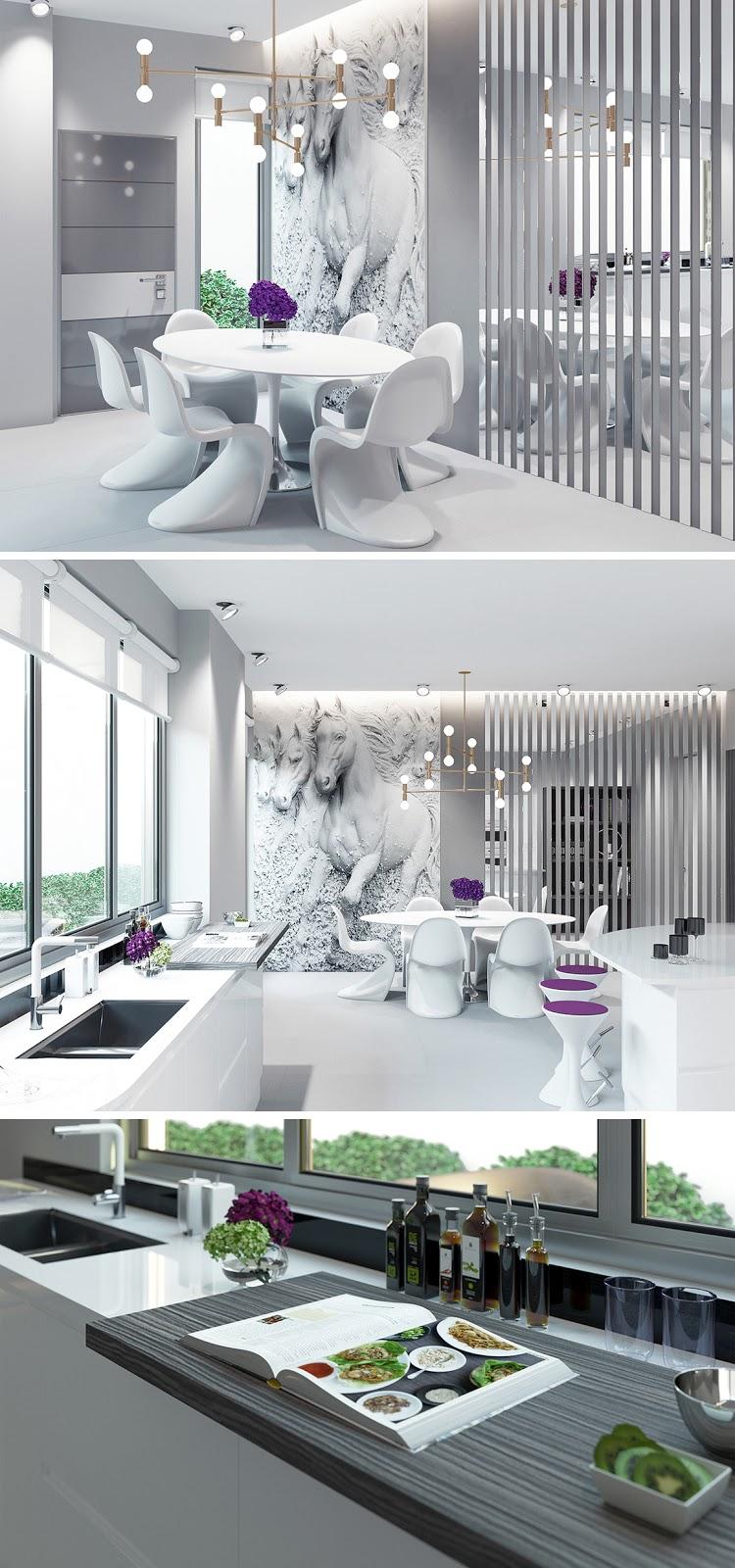 Inspiração cozinha branca