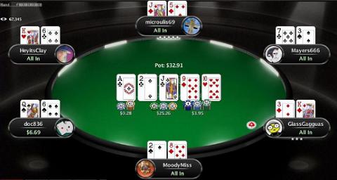 Phòng chơi Poker trên Unibet