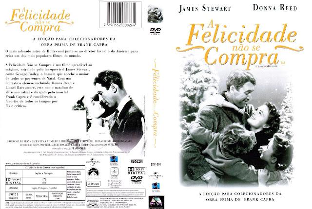 Capa DVD A Felicidade Não Se Compra