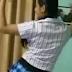 बंद कमरे में लड़की ने किया डांस, वीडियो हुआ वायरल - Dance on hindi song by girl in room