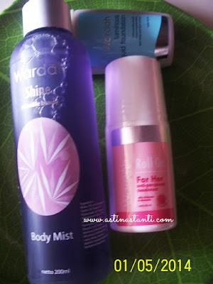 body mist wardah