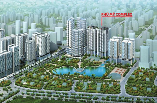 Chung cư Phú Mỹ Complex - Xu hướng lựa chọn không gian sống hiện nay