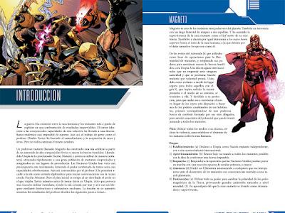 Worlds In Peril: X-men - Hojas de personaje, peligros, estadísticas de enemigos y rolato