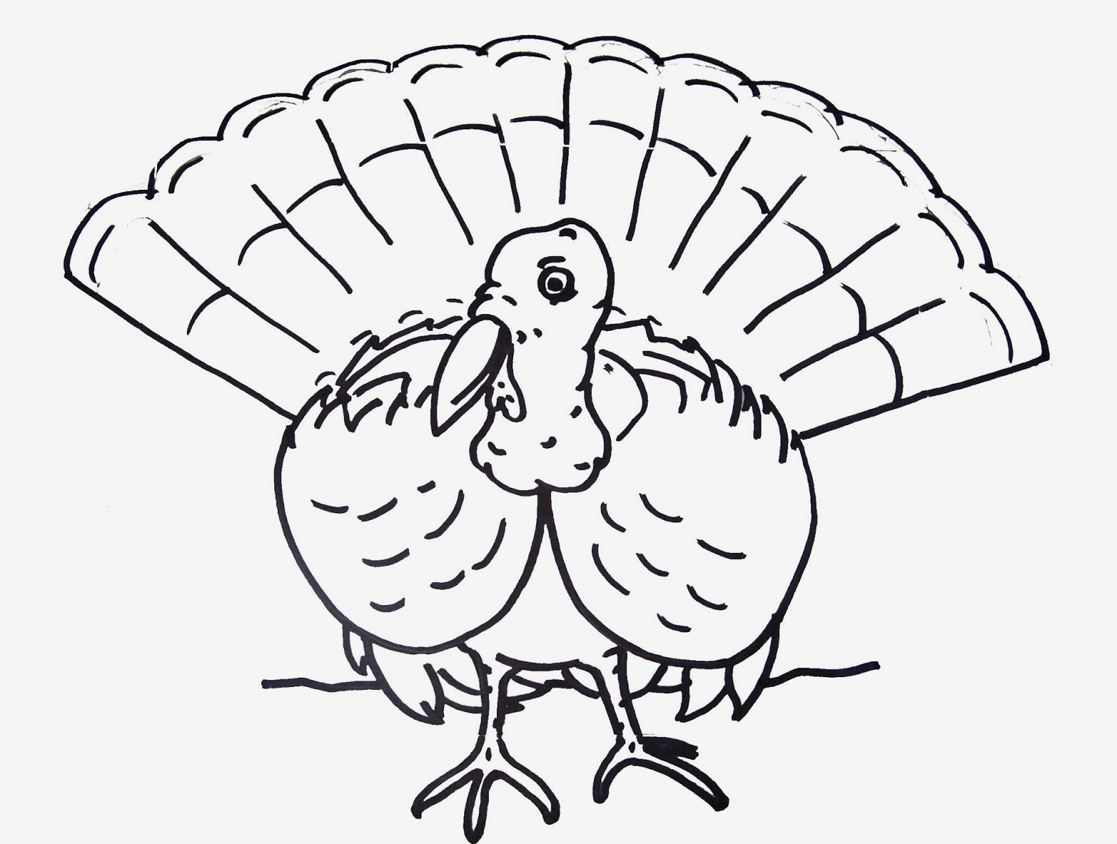 Free Printable Coloring Sheets For Thanksgiving