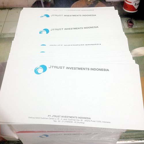 Cetak Amplop Kabinet Murah Jakarta