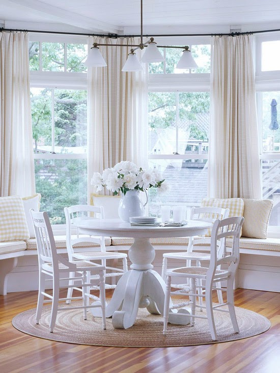 Modern Furniture: 2014 Comfort Breakfast Nook Decorating Ideas