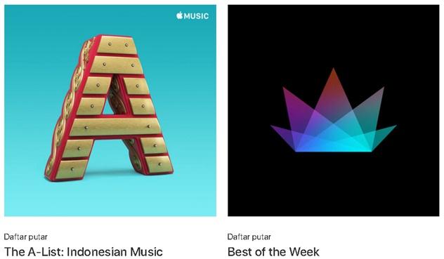 Sekarang ada di Apple Musik