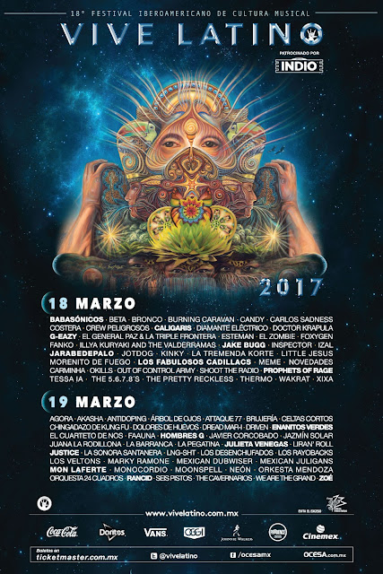 Más bandas se suman al Vive Latino