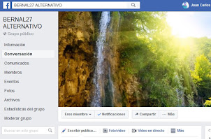 GRUPO EN FACEBOOK 'BERNAL27 ALTERNATIVO'